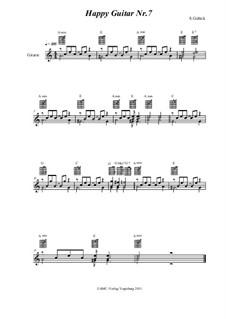 Happy Guitar: No.7 by S. Gelück