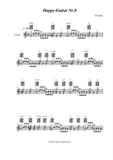 Happy Guitar: No.8 by S. Gelück