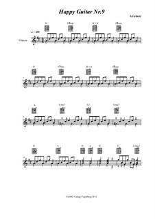 Happy Guitar: No.9 by S. Gelück