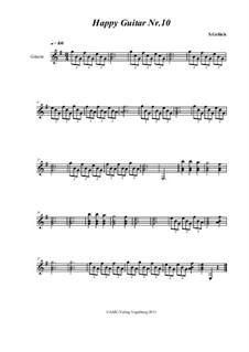 Happy Guitar: No.10 by S. Gelück