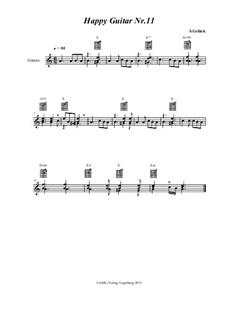 Happy Guitar: No.11 by S. Gelück