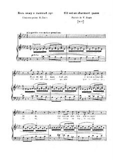 S'il est un charmant gazon, S.284: Klavierauszug mit Singstimmen by Franz Liszt