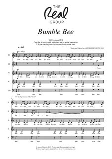 Bumble Bee: SSAA(B) by Anders Edenroth