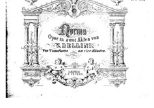 Complete Opera: For piano four hands by Vincenzo Bellini