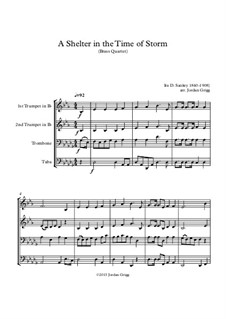 A Shelter in the Time of Storm: For brass quartet by Ira David Sankey
