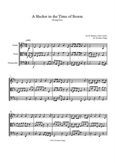 A Shelter in the Time of Storm: For string trio by Ira David Sankey