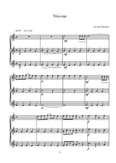 Trio One: Trio One by Tor-Arne Riksheim