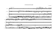 Jazz Piece for Clarinet and Acoustic Bass Guitar, Marimba and Bass Marimba 'A la faveur de la nuit' No.2, MVWV 329: Jazz Piece for Clarinet and Acoustic Bass Guitar, Marimba and Bass Marimba 'A la faveur de la nuit' No.2 by Maurice Verheul