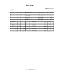Requiem Mass: Full score, parts by Stephen DeCesare