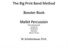 Booster Book: Mallet percussion by Michele Schottenbauer