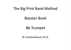 Booster Book: Trumpet by Michele Schottenbauer