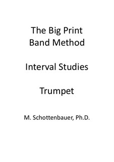 Interval Studies: Trumpet by Michele Schottenbauer