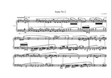 3 Sopio's for piano: Sopio No.2, MVWV 547 by Maurice Verheul