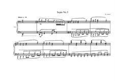 3 Sopio's for piano: Sopio No.3, MVWV 552 by Maurice Verheul