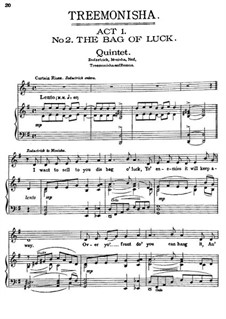 Treemonisha: No.2 The Bag of Luck by Scott Joplin