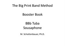 Booster Book: Tuba (3-Valve) by Michele Schottenbauer