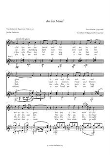 An den Mond (To the Moon), D.259: For vocie and guitar by Franz Schubert