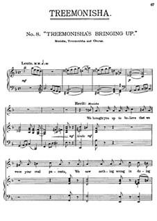 Treemonisha: No.8 Treemonisha's Bringin Up by Scott Joplin