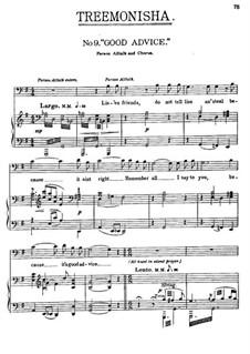 Treemonisha: No.9 Good Advice by Scott Joplin