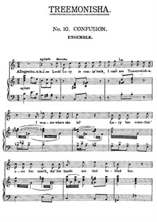 Treemonisha: No.10 Confusion by Scott Joplin