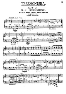 Treemonisha: No.11 Superstition by Scott Joplin