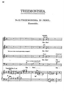 Treemonisha: No.12 Treemonisha in Peril by Scott Joplin