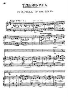 Treemonisha: No.13 Frolic of The Bears by Scott Joplin