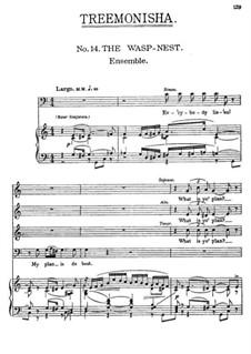Treemonisha: No.14 The Wasp-Nest by Scott Joplin