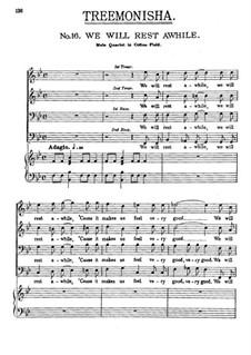 Treemonisha: No.16 We Will Rest Awhile by Scott Joplin