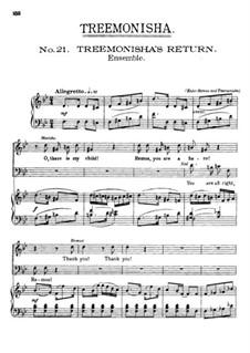 Treemonisha: No.21 Treemonisha's Return by Scott Joplin