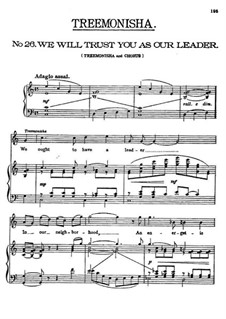 Treemonisha: No.26 We Will Trust You As Our Leader by Scott Joplin