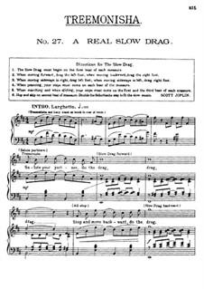 Treemonisha: No.27 A Real Slow Drag by Scott Joplin