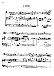 Sonata in E Minor: For trombone and piano by Antonio Vivaldi