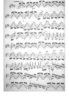 Twenty-Four Caprices, Op.1: Caprice No.1 by Niccolò Paganini