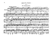 Six Easy Pieces for Piano Four Hands, J.9–14 Op.3: Complete set by Carl Maria von Weber