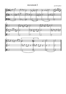 Second movement: Second movement by Gerald Fitzgibbon