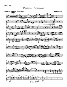 Passione Amorosa: Version for double bass sextet – part I by Giovanni Bottesini