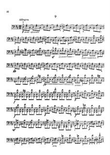 Twelve Caprices for Cello, Op.25: Caprice No.9 by Carlo Alfredo Piatti