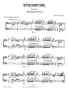 Two Pieces for Cello and Piano, Op.23: No.2 Gavotte for piano by David Popper