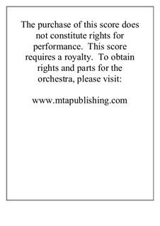 Missa De Profunctis: Full conductor score by Stephen DeCesare