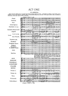 Complete Opera: Act I by Giacomo Puccini