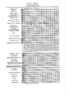 Complete Opera: Act II by Giacomo Puccini