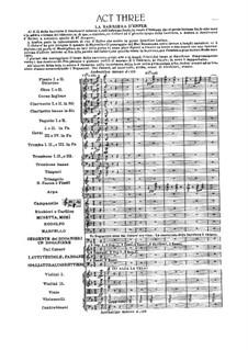 Complete Opera: Act III by Giacomo Puccini