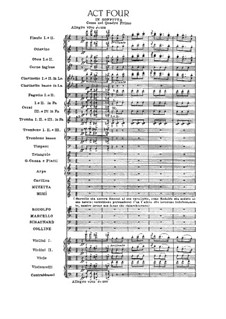 Complete Opera: Act IV by Giacomo Puccini