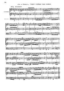 Ode to St. Cecilia, Z.328: Full score by Henry Purcell