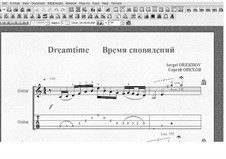 Dreamtime: Dreamtime by Sergei Orekhov