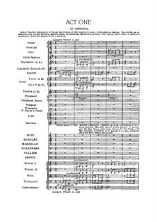 Complete Opera: Full score by Giacomo Puccini