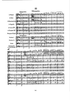 Symphony No.101 in D Major 'The Clock', Hob.I/101: Movement III by Joseph Haydn