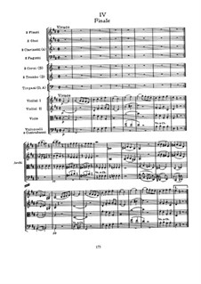 Symphony No.101 in D Major 'The Clock', Hob.I/101: Movement IV by Joseph Haydn