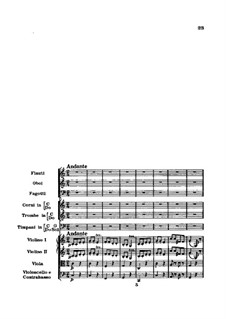 Symphony No.94 in G Major 'The Surprise', Hob.I/94: Movement II by Joseph Haydn